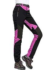 LHHMZ Waterdichte wandelbroek voor dames, ademend, lichtgewicht, voor buiten, sportbroek, sneldrogend, wandelen, klimmen, wandelbroek