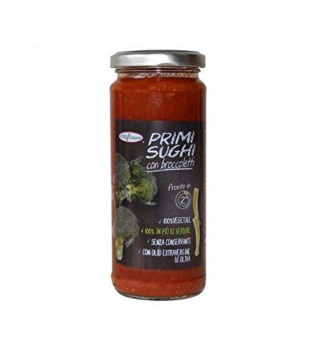 Puma Conserve - Salsa de tomate casera con brócoli 320gr