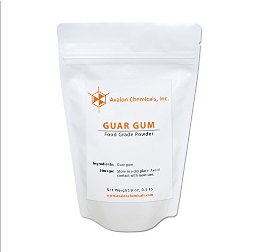 Guar Gum - Guar Gum Food Grade Powder - 8 oz