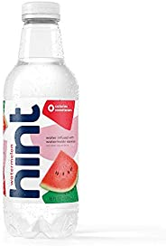 Hint Water Watermelon Bottles 16 Ounce (Pack of 12) Pure Water Infused with Watermelon Zero Sugar Zero Calorie