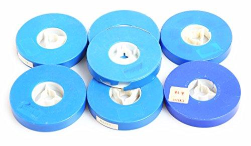 SUPER 8 50FT PLASTIC MOVIE REELS/CANS SET OF 14 ()