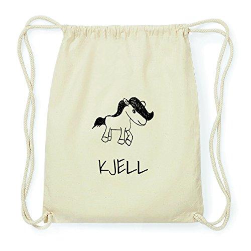 JOllipets KJELL Hipster Turnbeutel Tasche Rucksack aus Baumwolle Design: Pony ZVZlx1M