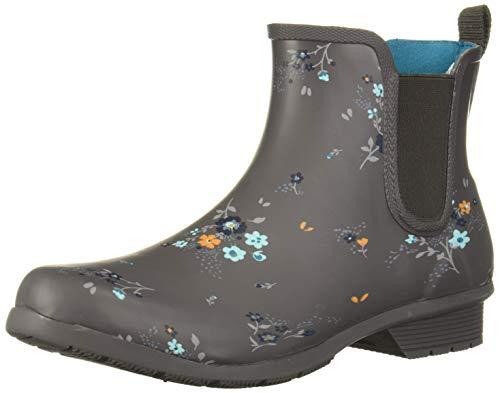 Chooka Women's Waterproof Printed Chelsea Boot with Memory Foam, Caroline, 11 M US