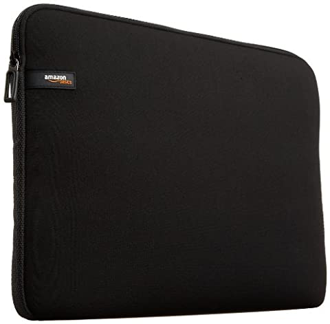 AmazonBasics 14-Inch Laptop Sleeve - Black - Office Basics