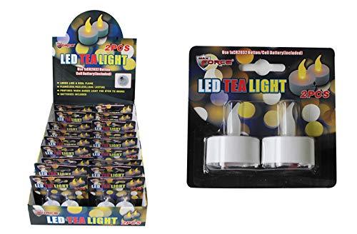 DollarItemDirect LED Tea Lights (2 PC), Case of 144