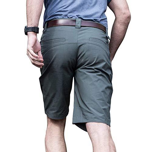 Ville Pour Respirant Imperméable Et Air Base L'été En De Lannister Couleur Vêtements Fashion Unie Déperlant Short grün Fête Grau Plein Extensible Hommes qIxWwWt8C
