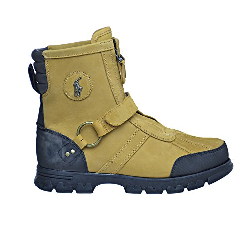Polo Ralph Lauren Conquest Hi III Men's Nubuck Boots Wheat 8
