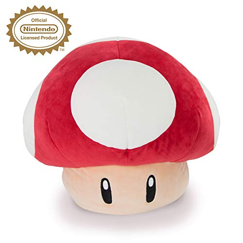 Mushroom Plush - Club Mocchi Mocchi Nintendo Mario Kart Mega Mushroom Plush Stuffed Toy