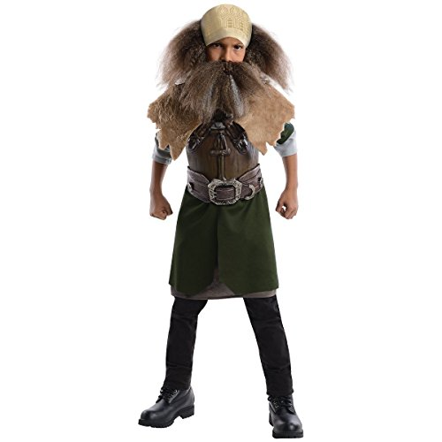 Men's Plus Size Indian Chief Costumes (Dwalin the Dwarf Costume - Small)