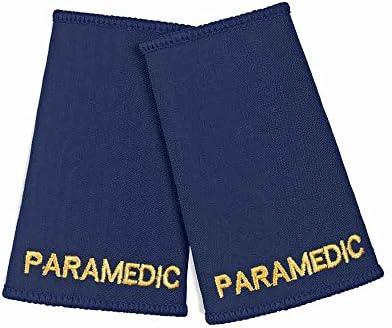 Paramedic Epaulette Sliders (Paar), Marineblau