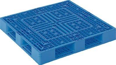 サンコー プラスチックパレット 1200X1200X150 青【SKD412122BL】 (販売単位:1枚) B002NILFIS