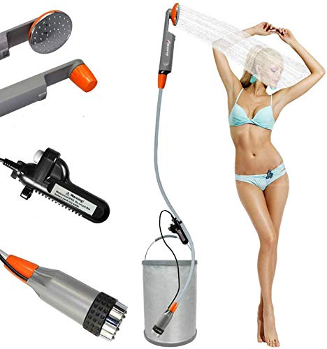 FLYFISH Camping douche set draagbare outdoor campingdouche campingdouche met dompelpomp voor privédouche auto wassen…