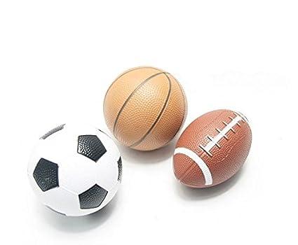 dlpj Kid balón baloncesto fútbol rugby en uno Pack pelotas de parque infantil para 1 –