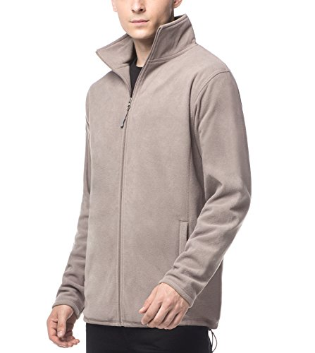 Chest Warmer (LAPASA Men's Windproof, Super Soft Fleece Jacket (260 g/m2). Zipper Pockets (for Daily Use, Outdoor Sports) M33 (S (Chest 36-38