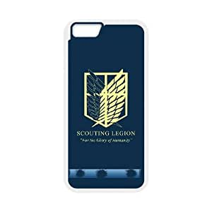 iphone6 4.7 inch Phone Case White Attack On Titan ZCC570934