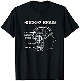 [Featured] Hockey Brain for the Ice Hockey and Field Hockey Player in ALL styles | Size S - 5XL