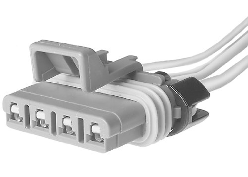 ACDelco PT1231 GM Original Equipment 4-Way Female Gray Multi-Purpose Pigtail