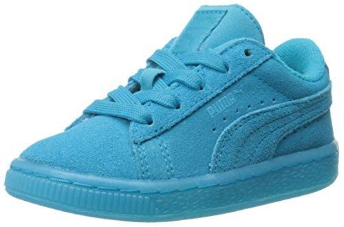 PumaSuede Jr - Zapatillas Niños-Niñas Atomic Blue/White