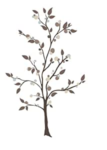 RoomMates RMK2365GM Mod Tree Peel and Stick Giant Wall Decals, 1-Pack