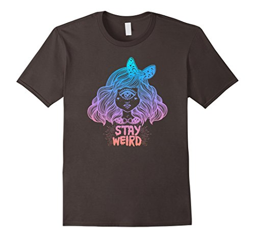 Stay Weird Tshirt - Cyclops - Pastel Gothic Aesthetic