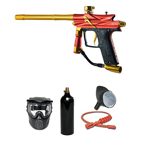 MAddog Azodin Blitz 3 Bronze Paintball Gun Package - Orange ()