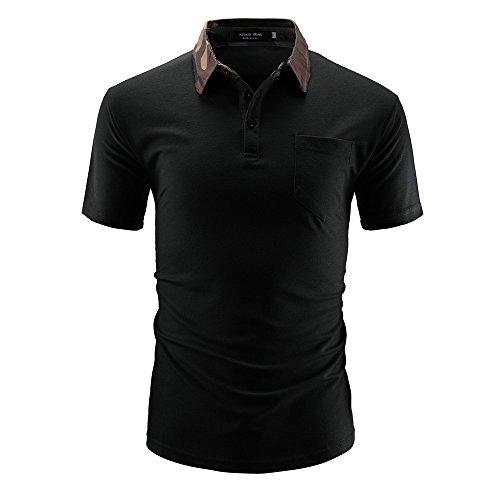 T Shirts for Men,AOJIAN Short Sleeve Shirts Button Neckline Casual Tunic Blouses Vest Tank Tops