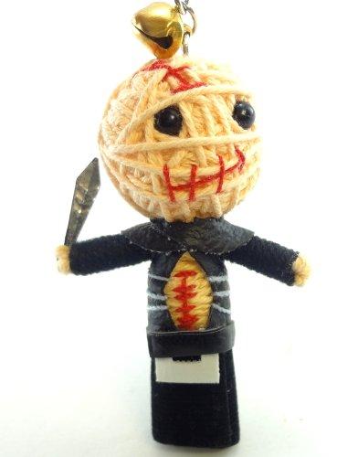 Butterball Cenobite Voodoo String Doll Key Chain Handmade Hellraiser