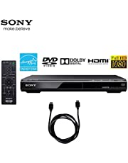 Sony DVPSR510H - DVD Player with Deco Gear 6ft High Speed HDMI Cable
