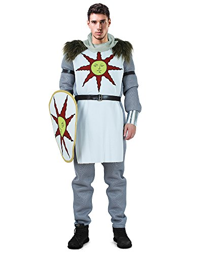 Miccostumes Men's Warrior of Sunlight Cosplay Costume (MM) -