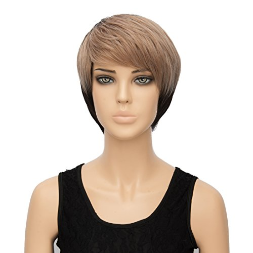 Aicos Probeauty Long/Short Lolita Cosplay Heat Resistant Synthetic Women Curly Wig+ Cap (243) ()