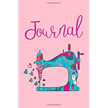 Quilters Notebook: Lined Sewing Journal