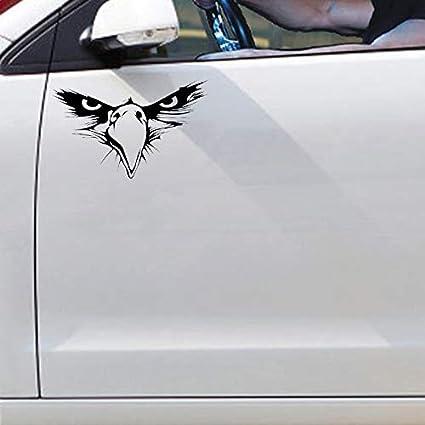 Hhuycvff vwuig 14.5CM X 10.6CM Akita Lifeline Dog Heartbeat PVC Nero//Argento Adesivo per auto