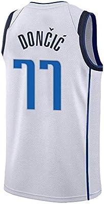 AKCHIUY Camiseta De Baloncesto Luka-Doncic # 77 para Hombre - NBA ...
