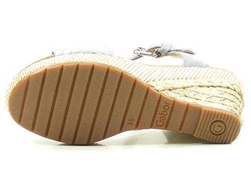 824 82 Gabor Farbe grau 5 Eu Donna Sandali 1 Schuhgröße 40 U5UdHrxw7q
