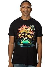 Rocket League Men's Boom Explosion Cloud Premium Cotton T-Shirt
