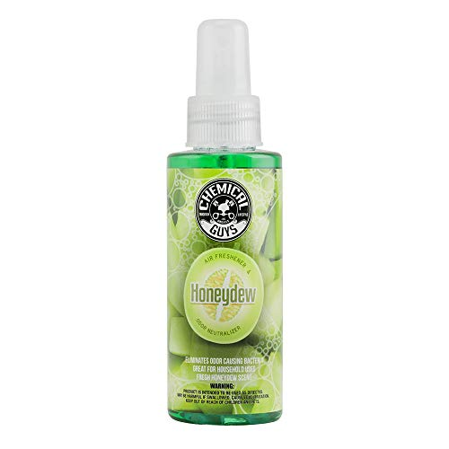 (Chemical Guys AIR_220_04 Honeydew Premium Air Freshener and Odor Eliminator (4 oz) )