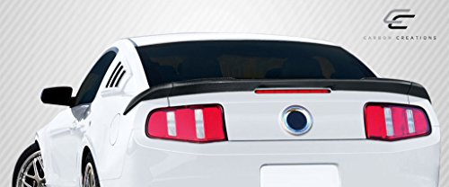 Carbon Creations Replacement for 2010-2014 Ford Mustang R-Spec Rear Wing Trunk Lid Spoiler - 3 ()