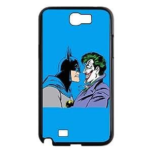 Batman vs Joker Blue Background Samsung Galaxy N2 7100 Cell Phone Case Black DIY present pjz003_6354379