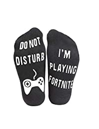 'Do Not Disturb' I'm Playing Fortnite' Funny Ankle Socks