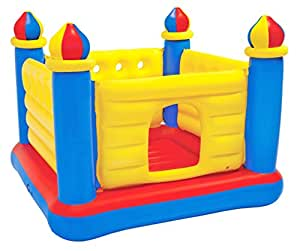 intex jump o lene castle inflatable bouncer for ages 3 6 toys games. Black Bedroom Furniture Sets. Home Design Ideas