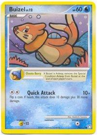 (Pokemon Buizel - Diamond & Pearl Mysterious Treasures - 75 [Toy])