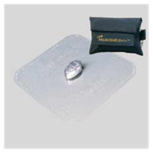 WP000-PT 76-356 76-356 Mask Protective CPR MicroShield Plus Nylon Pouch Black Ped/Ad Ea Medical Devices Intl
