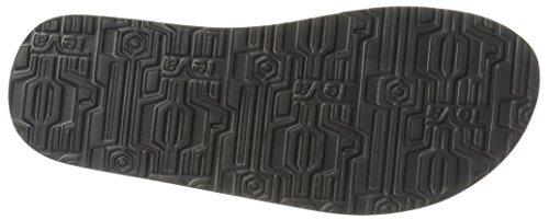 Teva Mush II TE.4168 - Chanclas para hombre Negro (Schwarz (brick black 630))
