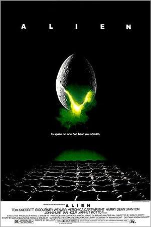 Posterlounge Alu Dibond 20 x 30 cm: Alien di Everett Collection