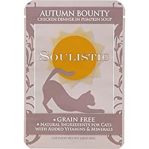 Soulistic Autumn Bounty Chicken Dinner in Pumpkin Soup Adult Cat Food Pouches