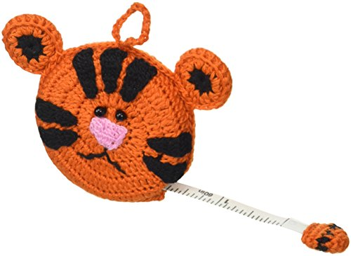 - Paradise Exotic Shawl Pin Tiger Crocheted Tape Measure 60