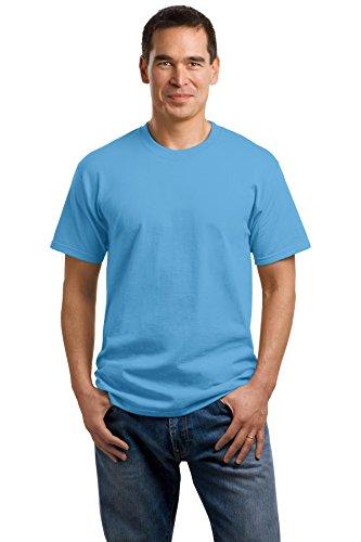 Cotton amp; Blue Hxhsa T Shirt Men's Port Company Aquatic Oz 100 54 Ax5w0pS5q
