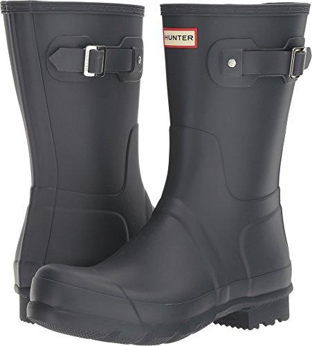 Hunter  Men's Original Short Dark Slate Boot
