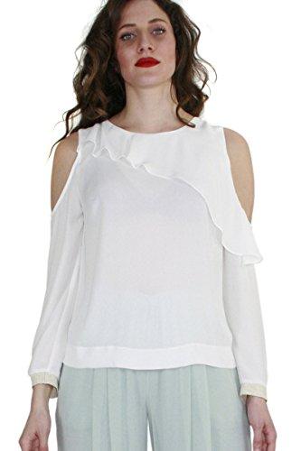60725 2018 Variante Collezione estate A Bianco Blusa Colore Donna Campione Fantasia Kocca Primavera Leila wCx1qacU