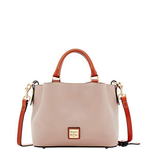 Dooney & Bourke Leather Mini Bag - Dooney & Bourke Pebble Grain Mini Barlow Top Handle Bag